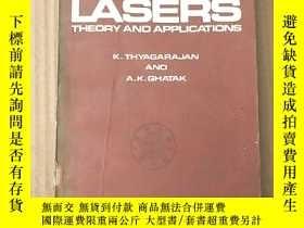 二手書博民逛書店lasers罕見theory and applications(P3612)Y173412