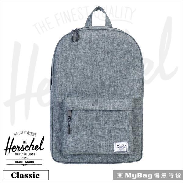 Herschel 後背包  灰色 經典後背包 Classic-919 MyBag得意時袋