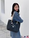 熱賣側背包 包包女大容量2021新款潮大學生上課包手提包百搭通勤側背背包【618 狂歡】