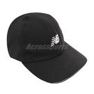 New Balance 帽子 NB Logo Jogging Cap 黑 銀 男女款 老帽 慢跑 反光設計 運動休閒 【ACS】 LAH13002BK