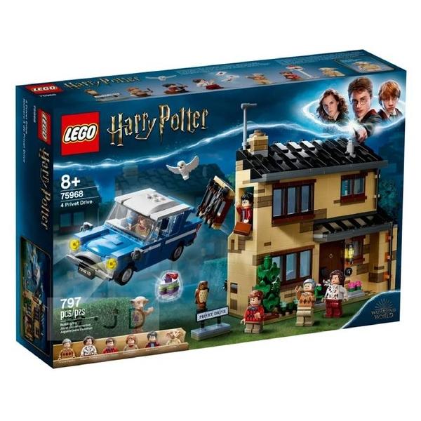 75968【LEGO樂高積木】哈利波特系列 - 4 水蠟樹街