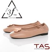 TAS融化飾扣鬆緊帶娃娃鞋-優雅膚