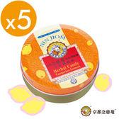 喉糖 金桔檸檬味枇杷潤喉糖60gX5盒【京都念慈菴】