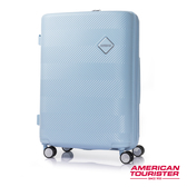 AT美國旅行者 29吋Groovista 霧面耐磨吸震PC硬殼行李箱(粉藍)