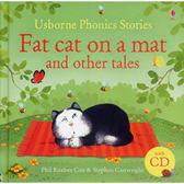 【麥克書店】PHONICS STORIES: FAT CAT ON A MAT AND OTHER TALES /精裝有聲書 (從故事裡認識基礎發音)