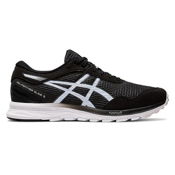 Asics Gel-feather [1011A812-001] 男鞋 運動 休閒 慢跑 穩定 舒適 緩衝 亞瑟士 黑白