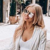 Dior 太陽眼鏡 STELLAIRE1 83I0T (金-白水銀灰藍鏡片) 歐美時尚率性百搭款 墨鏡 # 金橘眼鏡