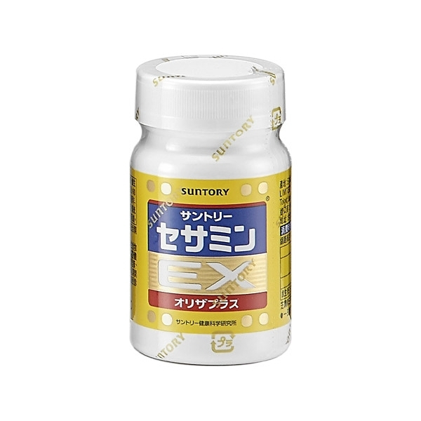 SUNTORY 三得利 芝麻明EX(90顆罐裝)【小三美日】※禁空運