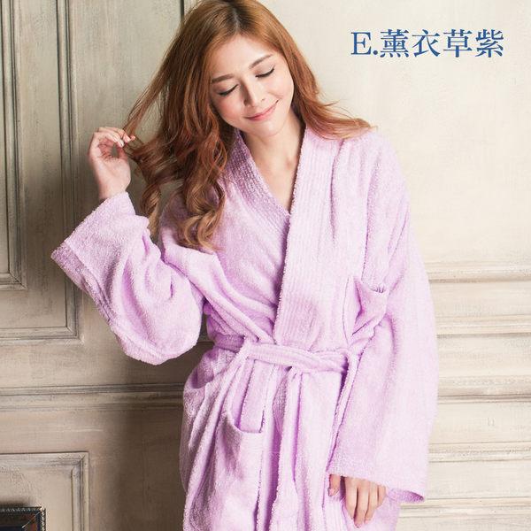 【Wonderland】極厚精梳棉日式浴袍(6色可選)