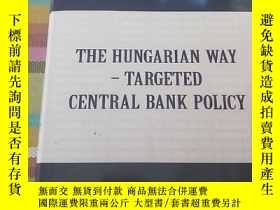 二手書博民逛書店THE罕見HUNGARIAN WAY TARGETED CENT