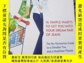 二手書博民逛書店The罕見Denim Diet: 16 Simple Habit