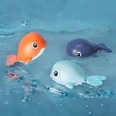 2只裝 寶寶洗澡玩具兒童戲水鯨魚海豚玩水游泳玩具【聚寶屋】