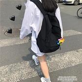 帆布後背包書包女ins風日系簡約潮流校園背包高中生大學生韓版後背包女帆布 萊俐亞