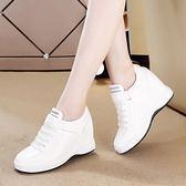 秋季新款內增高女鞋韓版運動鞋