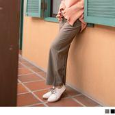 《BA4583》臧芮軒。沉穩色調質感厚西裝寬褲 OrangeBear
