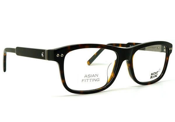 【台南 時代眼鏡 MontBlanc】萬寶龍 光學眼鏡鏡框 MB618-F 052 經典品味 商務氣質 公司貨開發票