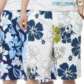 雙十一預熱海灘褲男大褲衩休閒五分褲【洛麗的雜貨鋪】