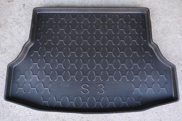 台灣製 周邊加高型 LUXGEN 納智捷 S3 專用防水托盤 密合度高 防水材質 後廂墊