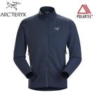 【ARC TERYX 始祖鳥 男 Kyanite 刷毛外套《夜月藍》】18942/夾克/中層衣/抓絨外套