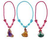【卡漫城】 公主 兒童 項鍊 三款選一 ㊣版 長髮 Ariel 打扮 首飾 Rapunzel 魔髮奇緣 美女與野獸 L2