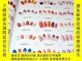 二手書博民逛書店Nail罕見Design Collection 9012 Pattern Magazine Book Nail A