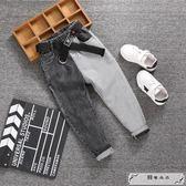 童裝男童牛仔褲新款韓版中大童學生褲子兒童修身長褲潮