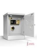 保險櫃 保險櫃家用指紋密碼55cm保險箱隱形小型入牆木製床頭櫃60高T