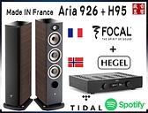 門市有現貨 - 法國製 Focal Aria 926 喇叭+挪威 Hegel H95 綜合擴大機『公司貨』