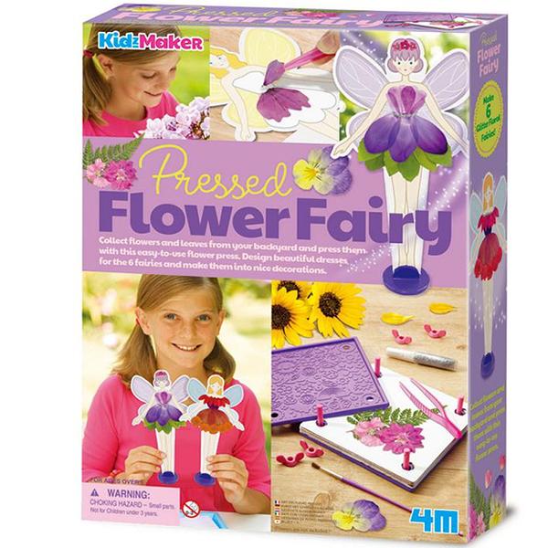 【4M】04731 美勞創作-壓花藝術 Pressed Flower Fairy