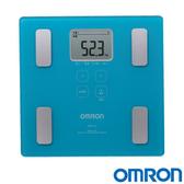 OMRON歐姆龍體脂肪計 HBF 214 水藍色