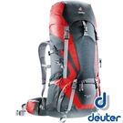 【德國 deuter】4340115-ACT Lite拔熱式 透氣背包65+10L『黑/紅』434011511 登山背包 大背包