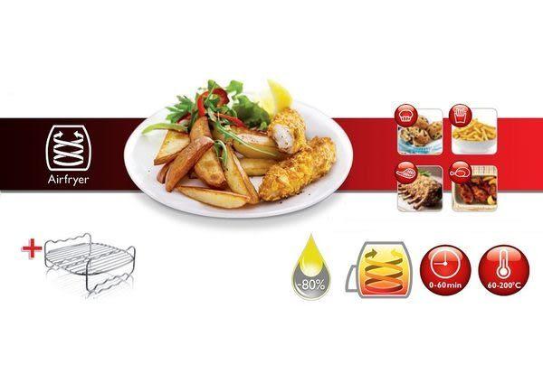 ◤附贈食譜+烤架◢ PHILIPS 飛利浦【HD9230】免油健康氣炸鍋 (黑色)