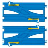 火車軌道配件 R-24 複線換線軌(2入)《PLARAIL鐵道王國》