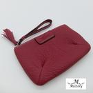 零錢包進口牛皮小巧壓角造型零錢包-紅A99-013FU (Misstery)
