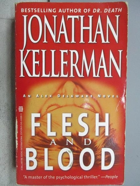 【書寶二手書T1/原文小說_MIR】Flesh and Vlood_Jonathan Kellerman