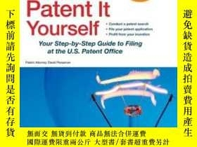 二手書博民逛書店Patent罕見It YourselfY256260 David Pressman Attorney Nolo