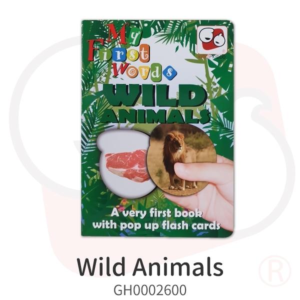 【KIDDY KIDDO】Wild Animals(童書)遊戲 策略 推理 益智 幼教