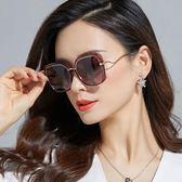 墨鏡墨鏡女新款女式偏光太陽鏡潮圓臉明星款防紫外線眼睛大臉優雅CY潮流站