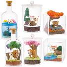 拉拉熊 盒玩 療癒擺飾 可愛造景 隨機出貨 Rilakkuma 日本正版 該該貝比日本精品 ☆