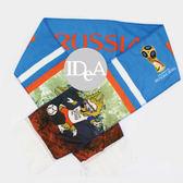 2018年俄羅斯世界盃足球賽 紀念版 國家隊 圍巾 145*18cm 世足賽 世界盃運動加油助威吶喊 超拉風