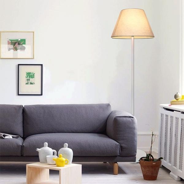 落地燈 臥室北歐簡約現代遙控調光創意主播立式床頭客廳落地台燈