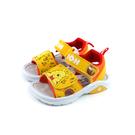 Disney Winnie the Pooh 迪士尼 小熊維尼 涼鞋 中童 童鞋 黃色 D520070 no012