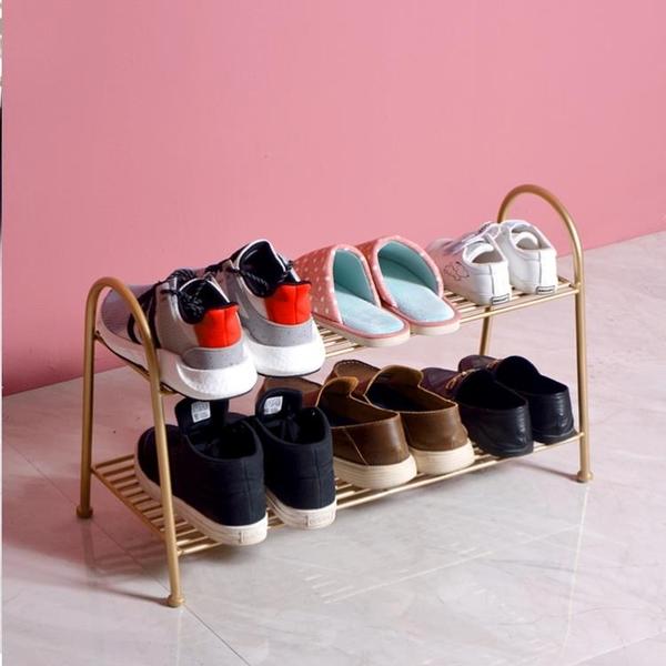 收納架家用多層鞋架子鞋門口鞋架進門簡易鐵藝拖鞋【奇妙商鋪】