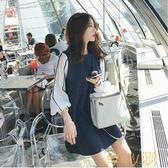 2018春裝韓版女裝內搭針織連身裙