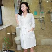 成人男士浴巾可穿式浴裙男女通用情侶性感酒店浴袍比棉質棉質強吸水【中秋節滿598八九折】
