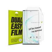 Rearth 三星 Galaxy Note 10 滿版抗衝擊螢幕保護貼(兩片裝)