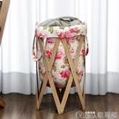 可折疊臟衣簍布藝收納筐臟衣服收納筐 洗衣籃洗澡簍浴室 YYJ歌莉婭