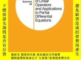 二手書博民逛書店Semigroups罕見Of ar Operators And Applications To Partial D