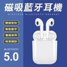 藍牙5.0 磁吸充電 真無線 藍芽耳機 無線耳麥 耳機