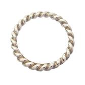 Tiffany & Co 蒂芬妮 麻花造型925純銀戒指 SV925 Ring 【BRAND OFF】